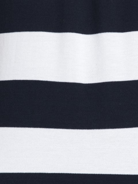 Navy & White Half Sleeve POLO T-Shirt