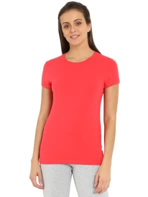 Hibiscus Round neck T-Shirt
