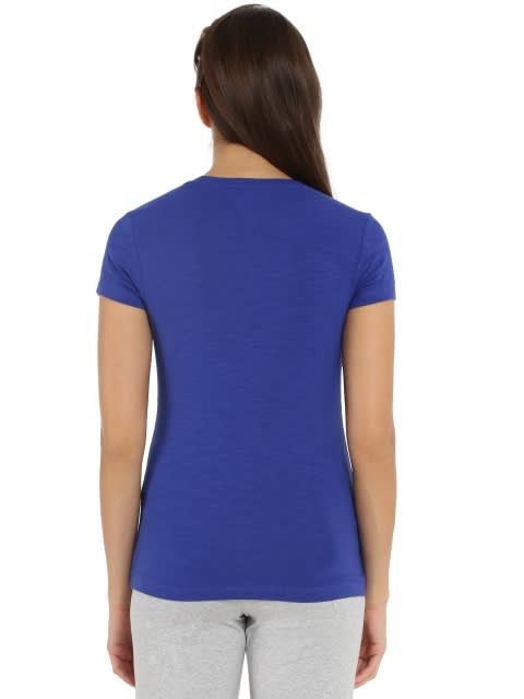 Indigo Crush Round neck T-Shirt