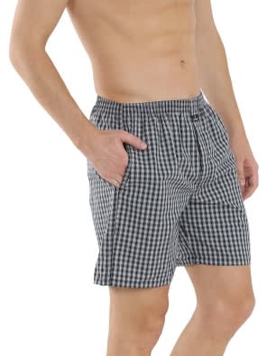 Multi Colour Check01 Boxer Short Pack of 2