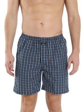 Multi Colour Check02 Boxer Short Pack of 2