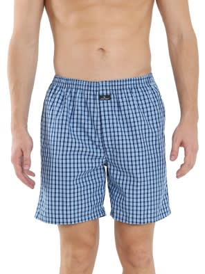 Multi Colour Check03 Boxer Short Pack of 2