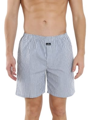 Multi Colour Check06 Boxer Short Pack of 2