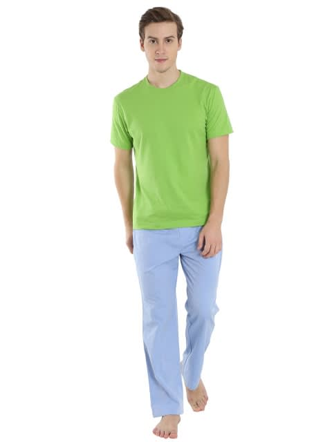 Blue Chambrey Pyjama