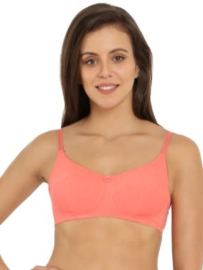 Blush Pink Slim Fit Bra