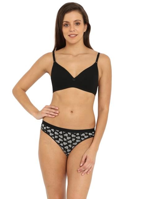 Black print Bikini