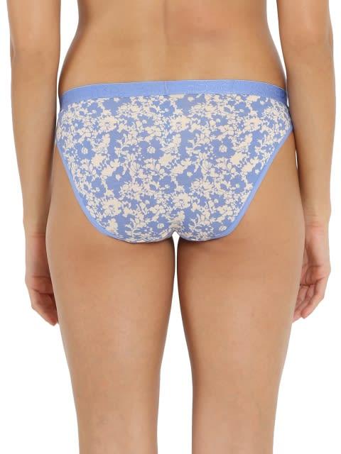 Iris Blue Print Bikini