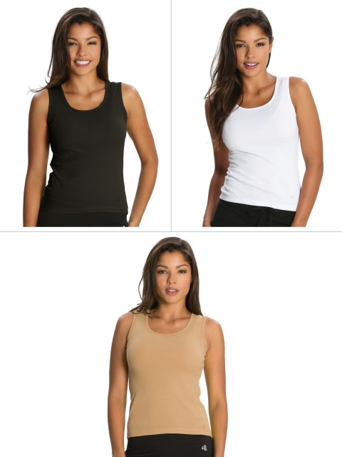 Basic Color Tank Top Combo - Pack of 3