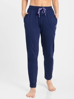 Imperial Blue & Paisley Purple Track Pant