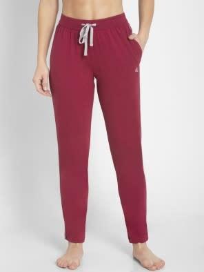 Rose Petal  & Grey Track Pant