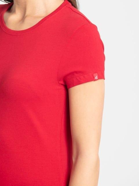 Jester Red Round Neck T-Shirt