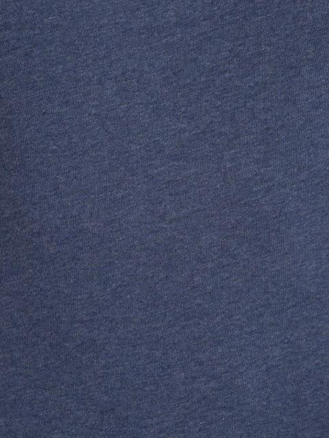 Medieval Blue Melange Round Neck T-Shirt