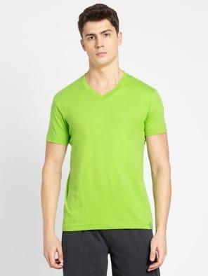 Greenery V-Neck T-shirt