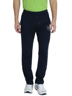 Navy & Grey Melange Track Pants