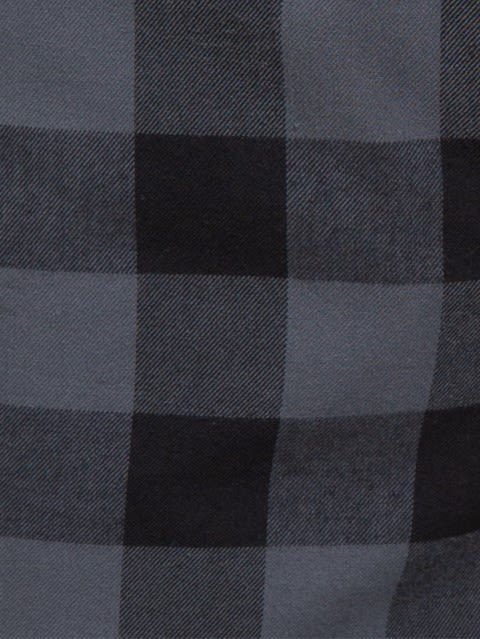 Black & Checks Woven Bermuda