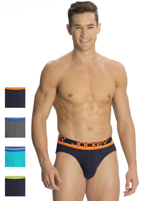 Fashion Color Modern Brief Combo - Pack of 4