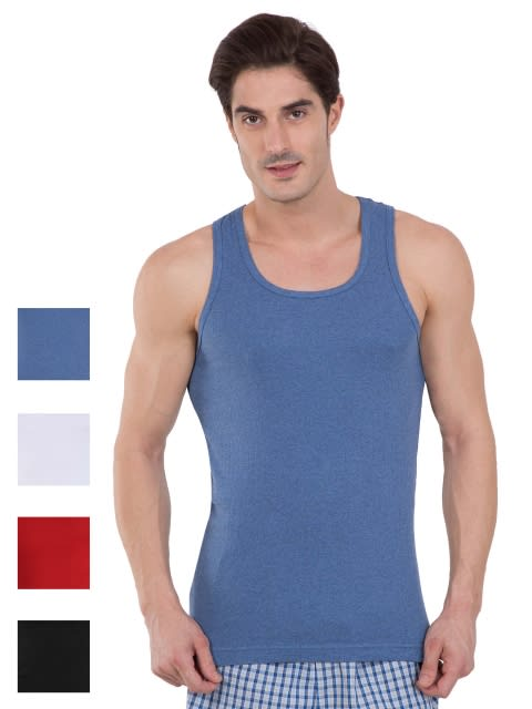 Multi Color Racer Back Shirt Combo - Pack of 4