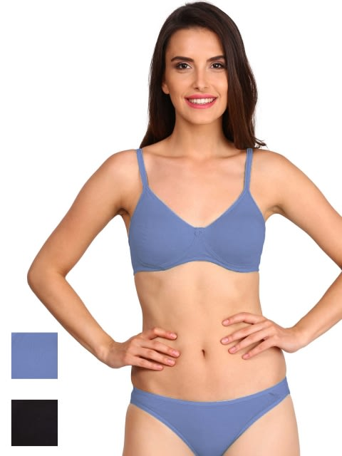 Core Color Seamless Shaper Bra Combo 1 - Pack of 2