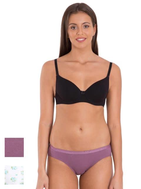 Dark Assorted & Light Prints Bikini Combo - Pack of 4