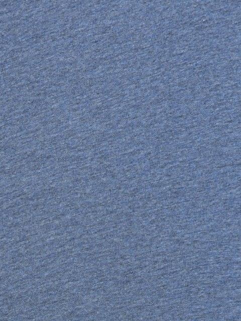 Light Denim Henley Half Sleeve T-Shirt