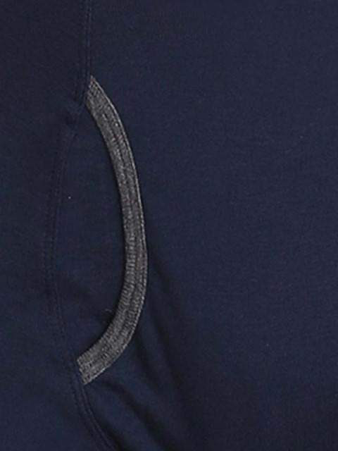 Navy & Charcoal Melange Boxer Brief Pack of 2