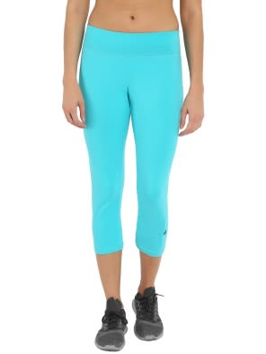 J Teal & Black Knit Sports Capri
