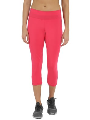 Ruby & Black Knit Sports Capri