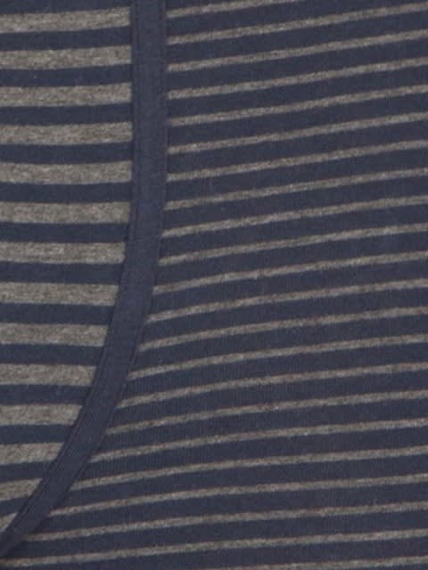 Navy & Grey stripes Yarn dyed Trunk