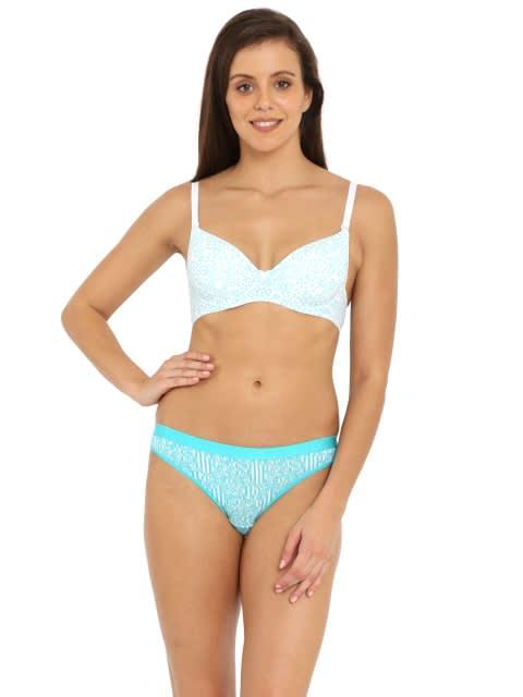 JTeal Prints Bikini