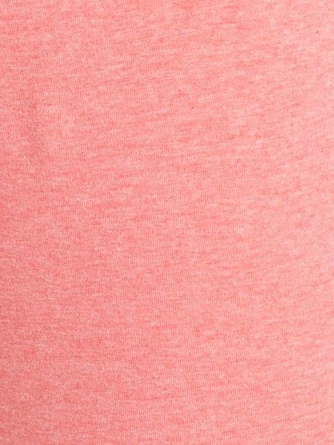 Passion Red Melange Track Pant
