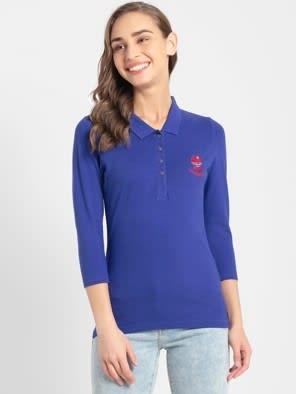 Indigo Crush Polo Shirt