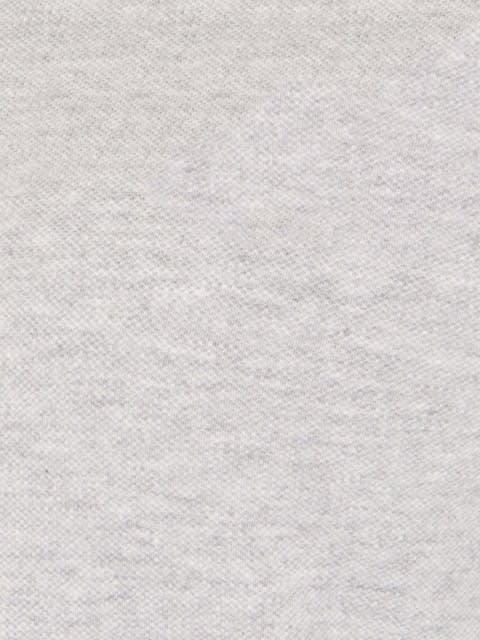 Light Grey Melange Polo Shirt