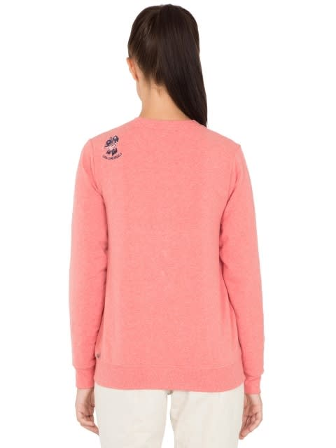 Passion Red Melange Sweatshirt