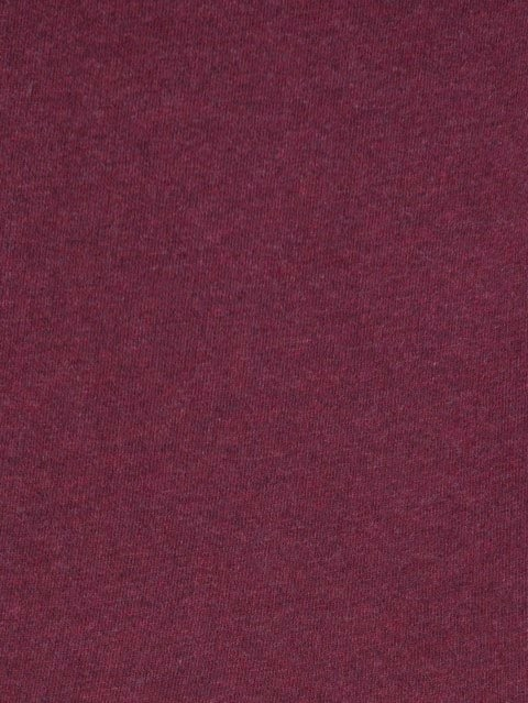 Burgundy Melange Sweatshirt