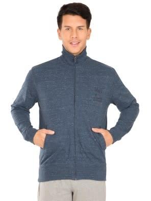 Blue Snow Melange Jacket