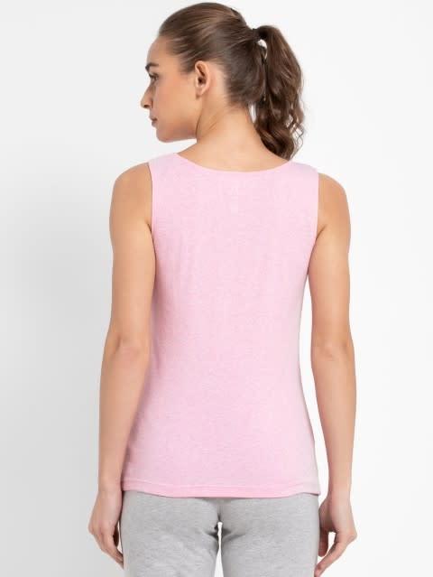 Pink Lady Melange Tank Top