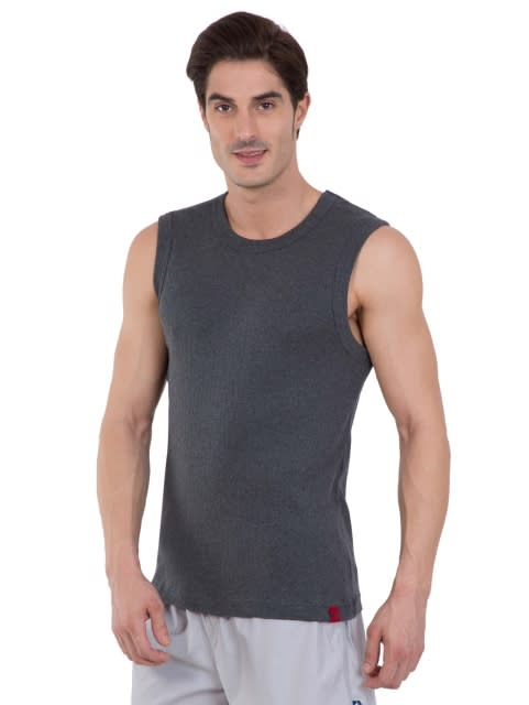 Basic Assorted Color Gym Vest Combo - Pack of 2