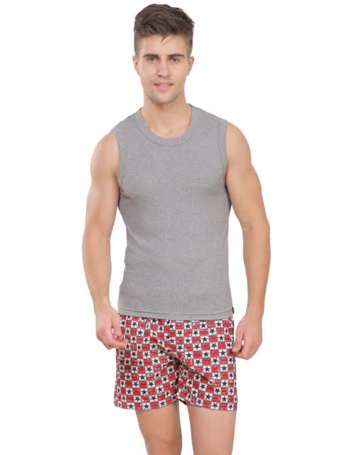 Multi Color Gym Vest Combo - Pack of 5