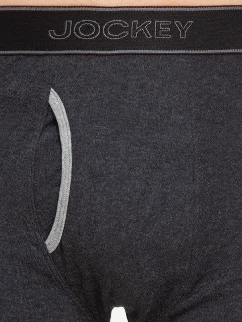 Black Melange & Grey Melange Boxer Brief