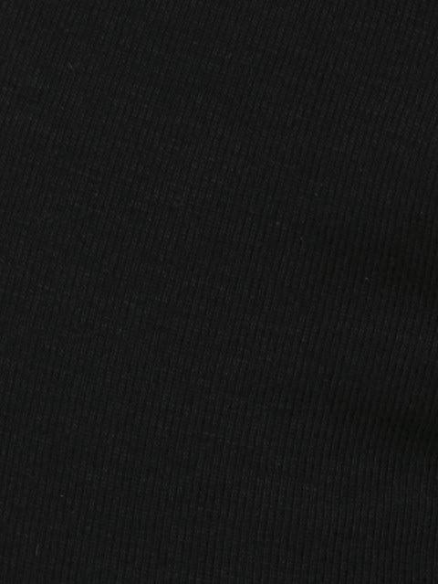 Black & Black Melange Boxer Brief