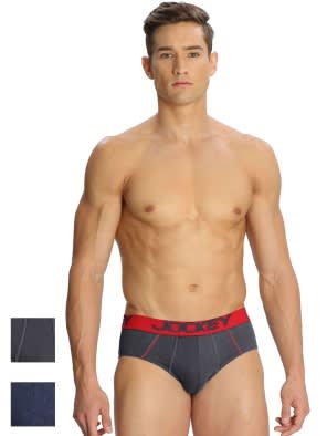 Basic Color Bold Brief Combo - Pack of 2