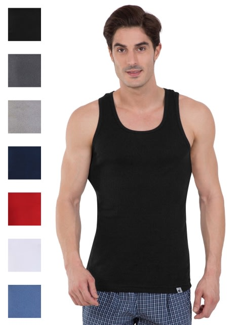 Multi Color Racer Back Shirt Combo - Pack of 7