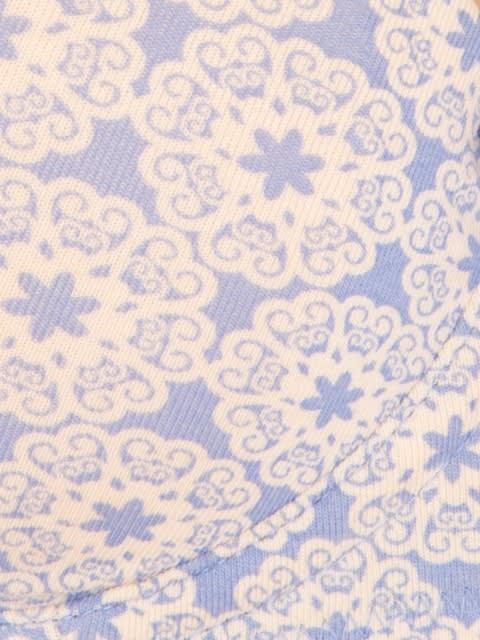 Iris Blue Print66 T-Shirt Bra