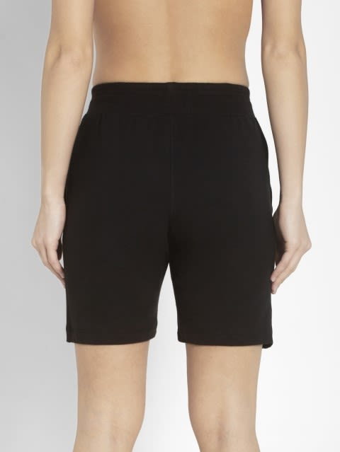 Black & Ruby Straight fit Shorts