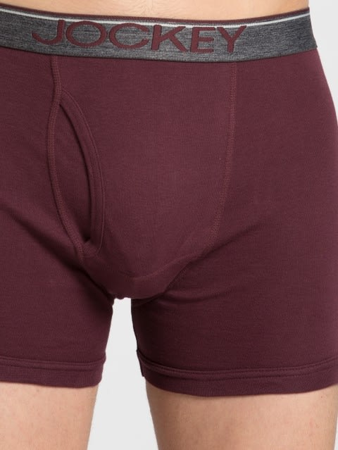Mauve Wine Boxer Brief