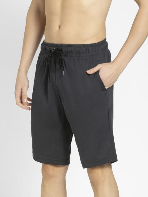 Graphite Straight fit shorts