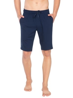 Navy Straight fit shorts