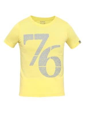 Gold Finch Print 24 Boys Printed T-Shirt