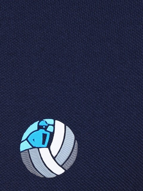 Navy Boys Polo T-Shirt