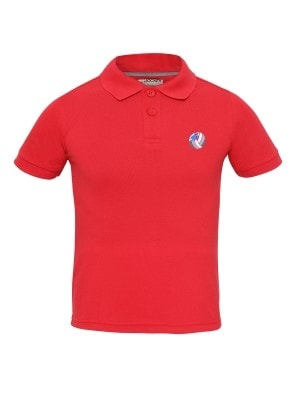 Team Red Boys Polo T-Shirt